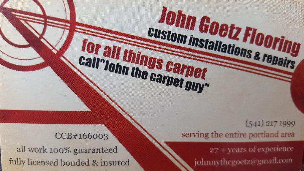 John Goetz flooring