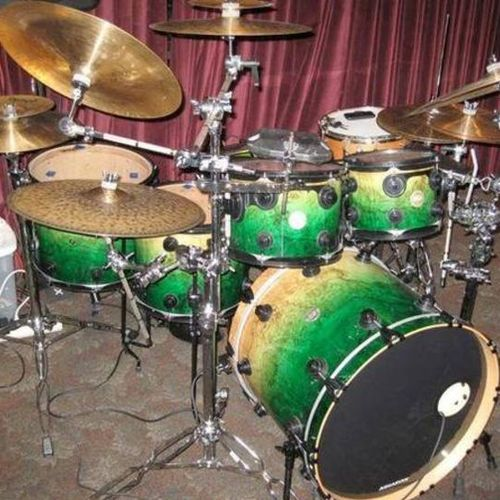 My custom made DW and Craviotto drum set