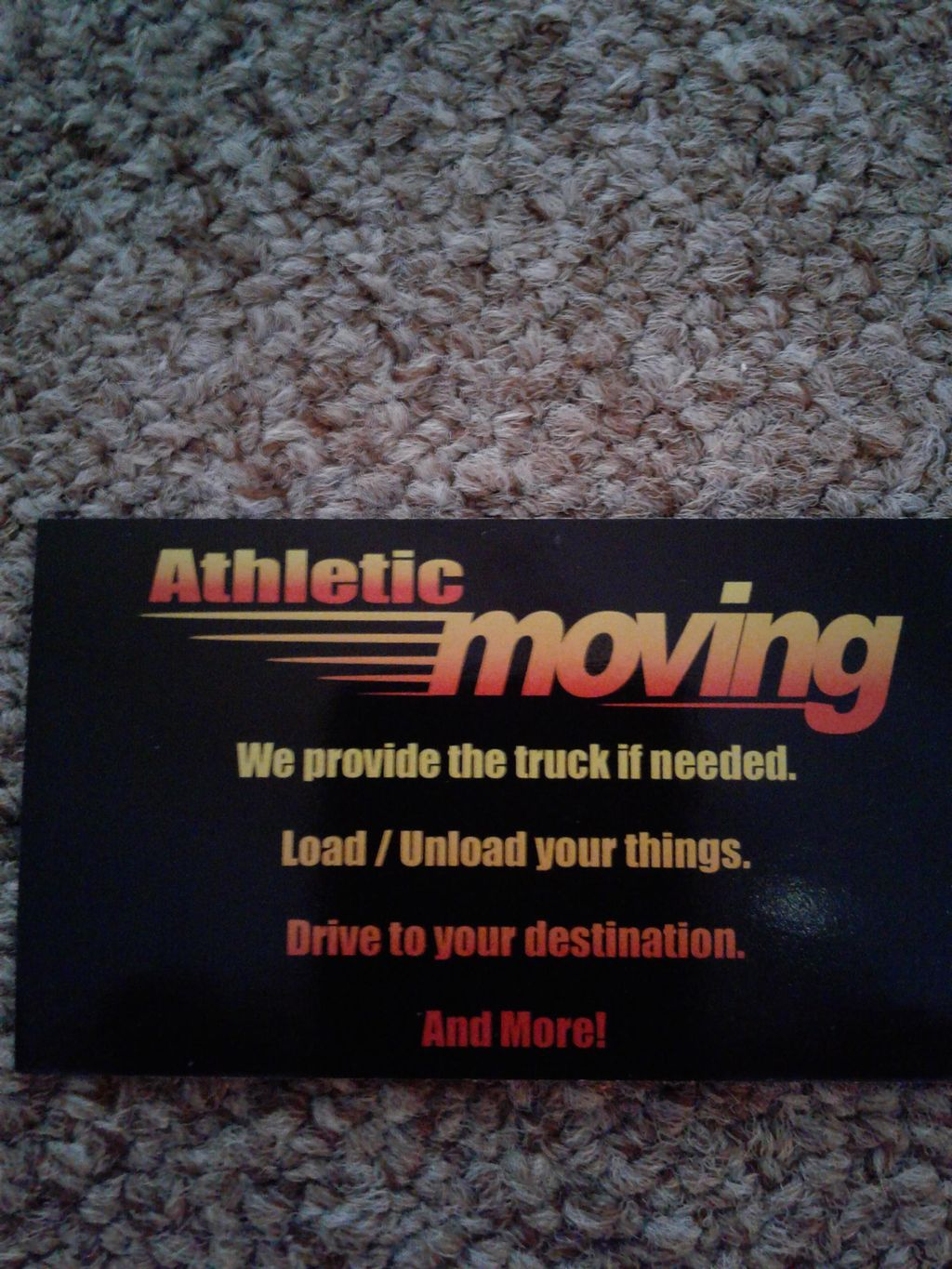 the athletic movers