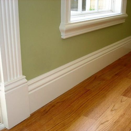 FINISH - Base Trim, Casings, Pilasters, Sills & Aprons