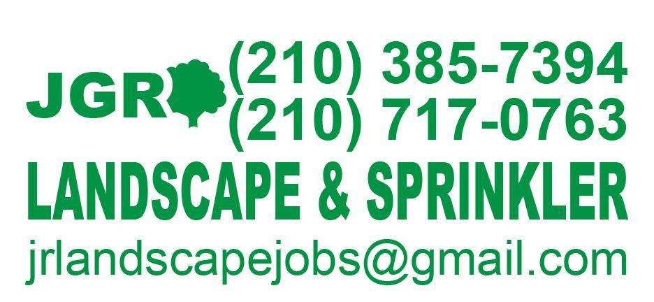 JGR Landscape and Sprinkler