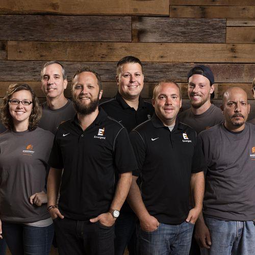 Emergent Construction Staff Composite Group Photo