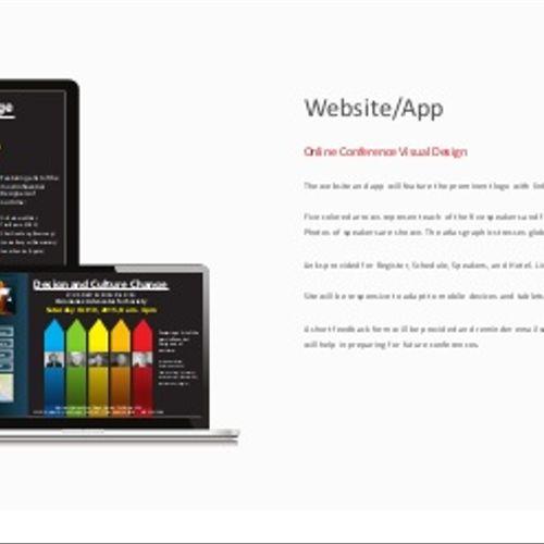 Conference Website and Logo Design
