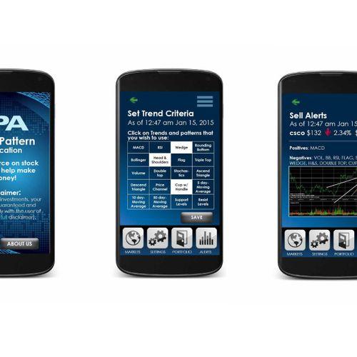 Stock App Design UI Design