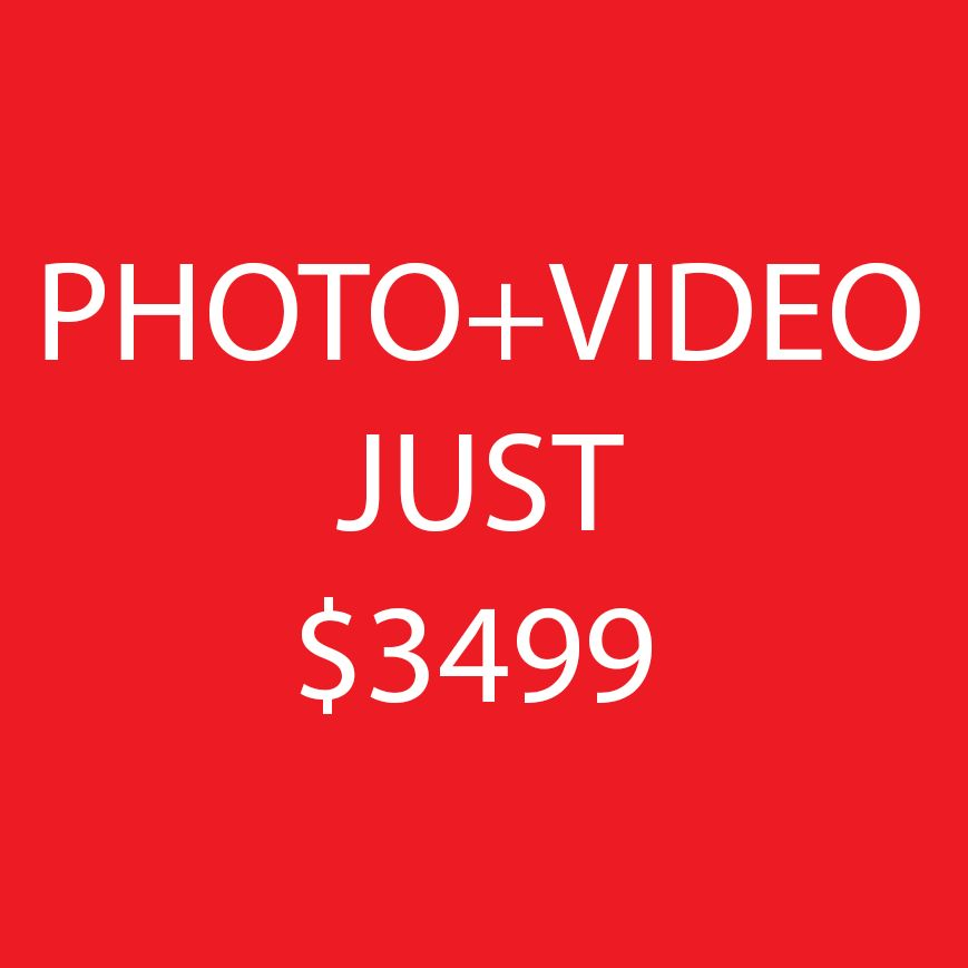 ⚠️ Photo+Video=$3499 FULL DAY! YourLifeEvent
