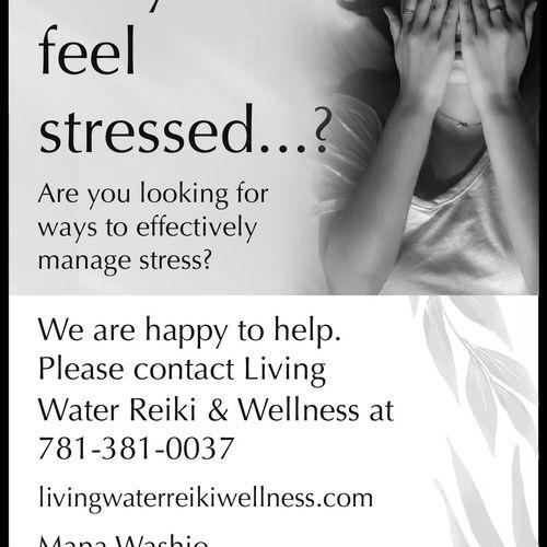 Stress Management Ad