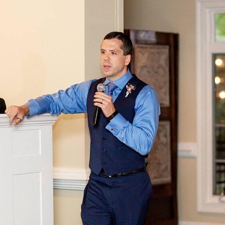 Jeremiah Dillon, Wedding Officiant