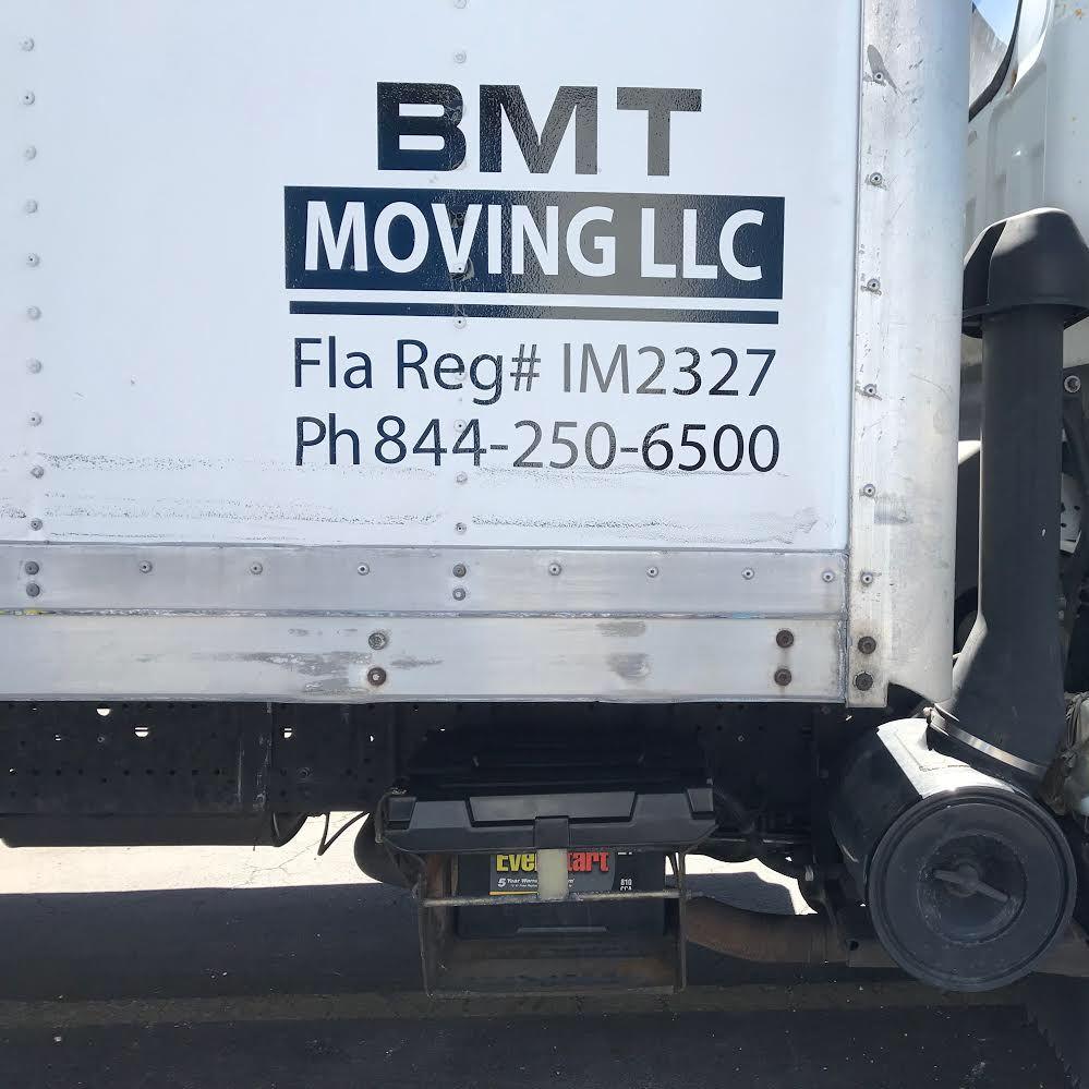 Bmt Moving LLC