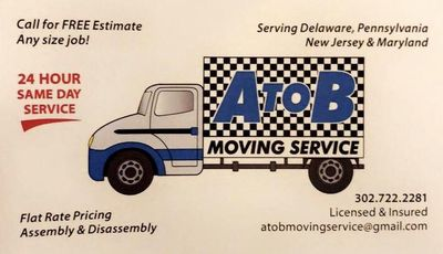 Avatar for A to B Moving Service Wilmington, DE Thumbtack