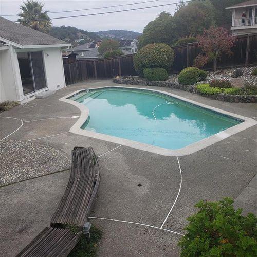 San Rafael In ground Pool Inspection