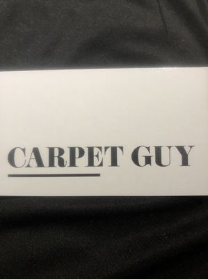 Avatar for CARPET GUY