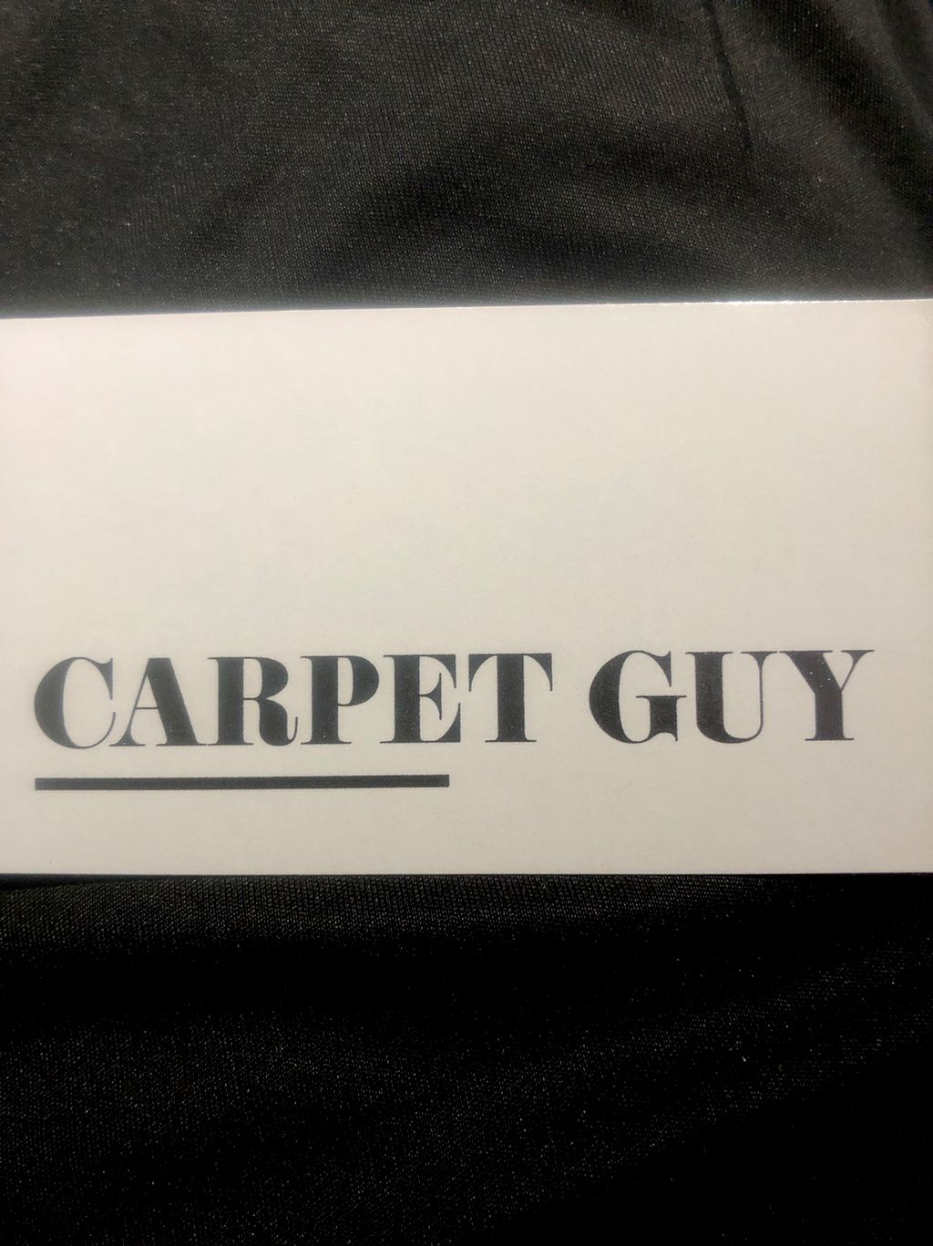 CARPET GUY