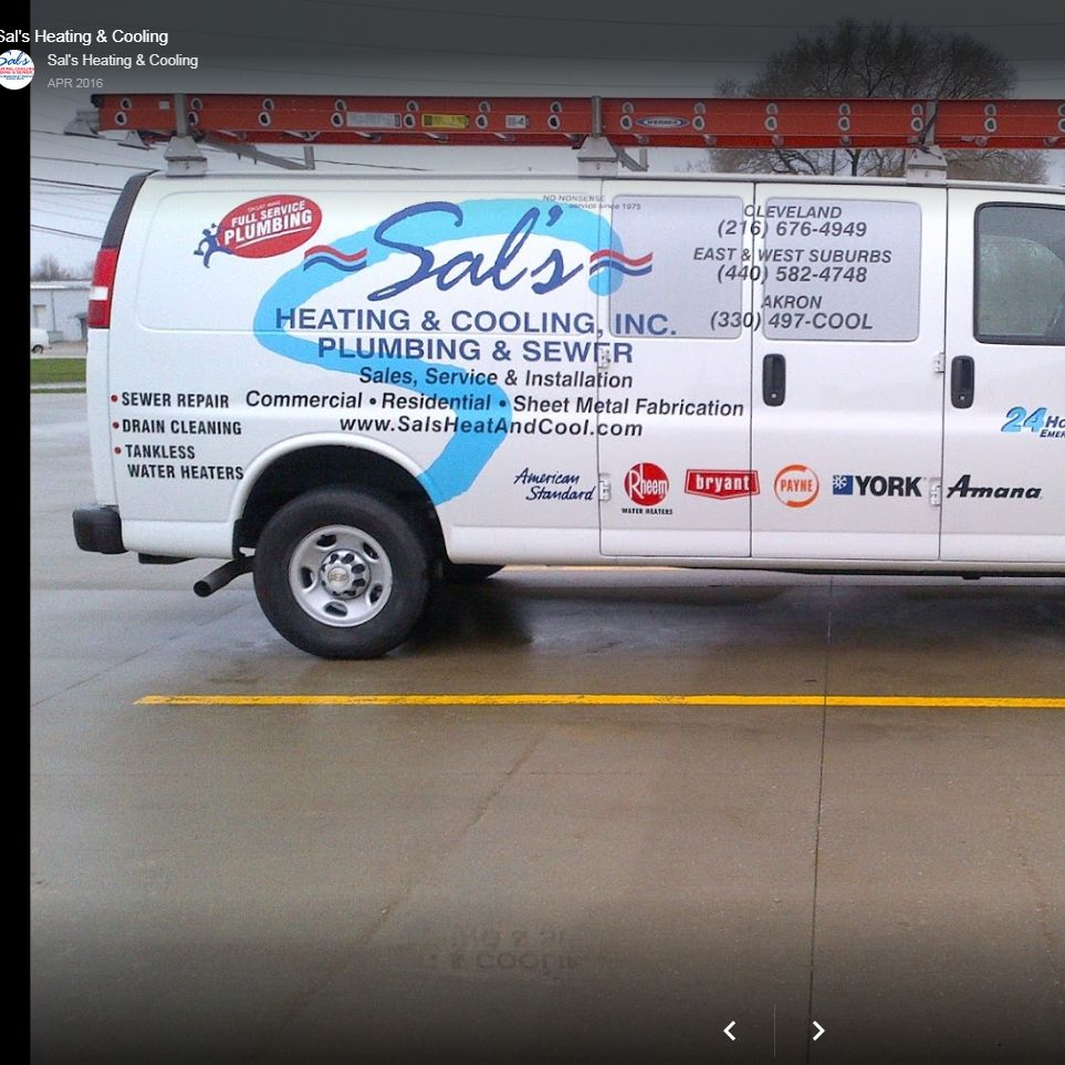 Sal's Heating and Cooling, Plumbing and Sewer Inc.