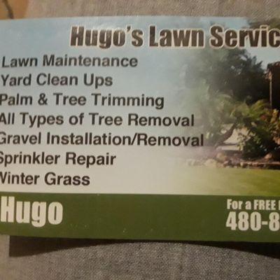 Avatar for Hugos lawn service Chandler, AZ Thumbtack