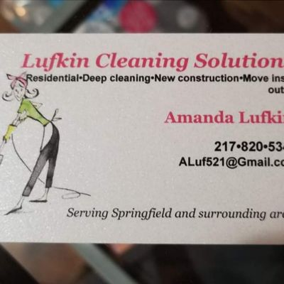 Avatar for Lufkin Cleaning Springfield, IL Thumbtack