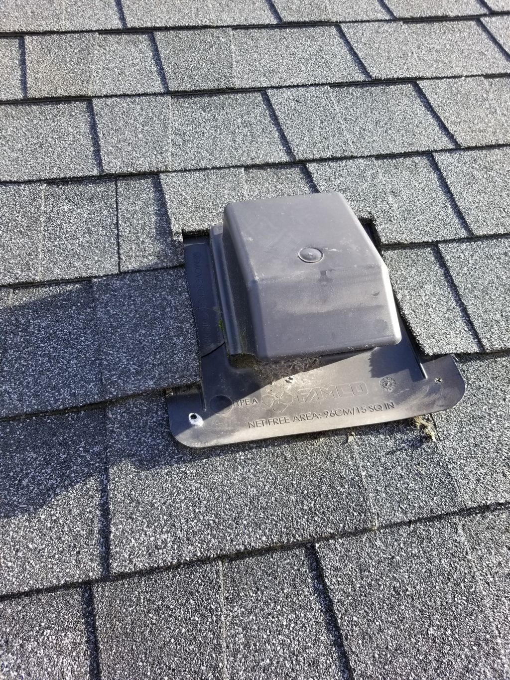 Leaky Exhaust Vent Replacement and Moss Treatment