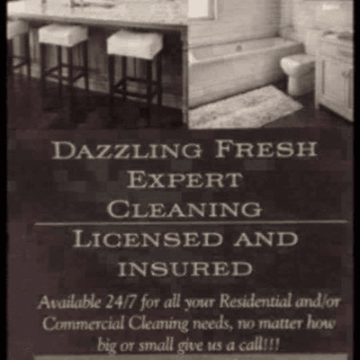 Avatar for Dazzling Fresh Expert Cleaning Clarksville, TN Thumbtack