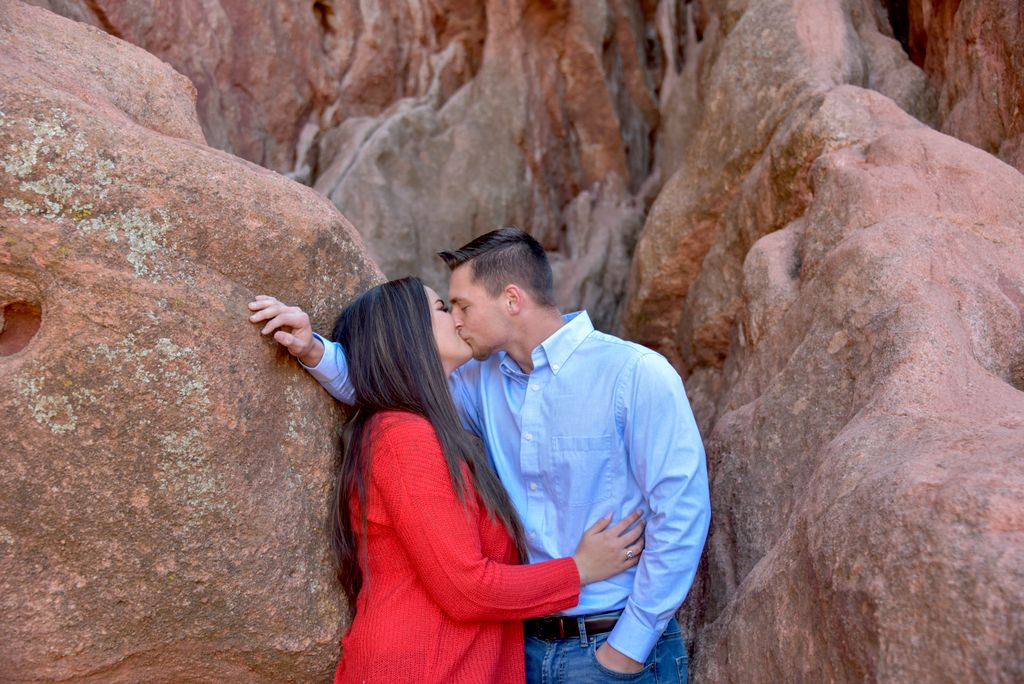 Couples Portrait Session at Garden of the Gods