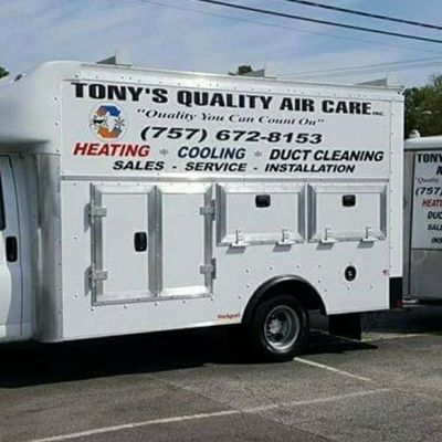 Avatar for Tony's Quality Air Care Inc Virginia Beach, VA Thumbtack
