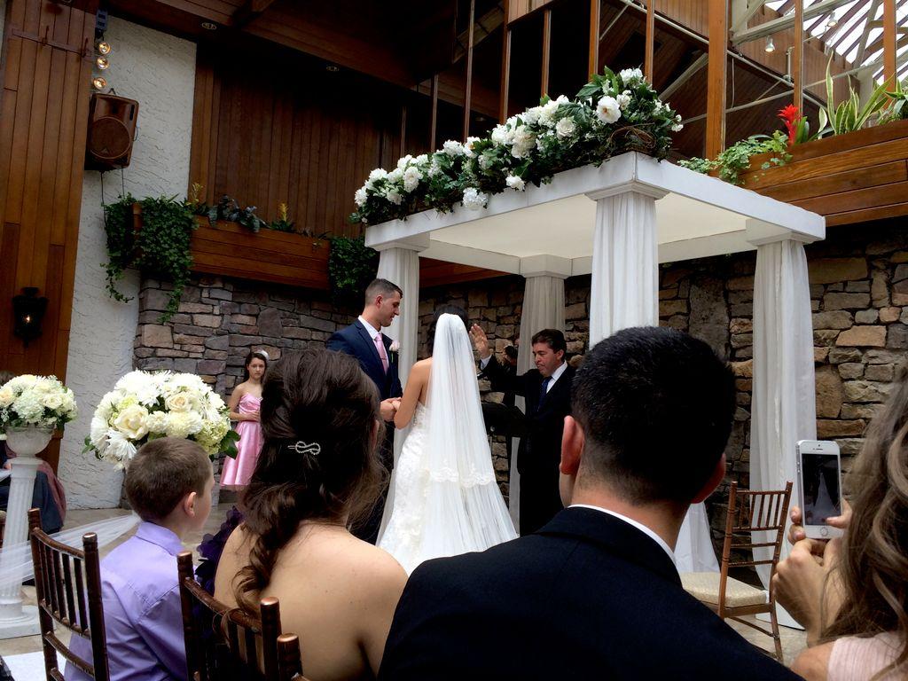 Wonderful Spring Wedding