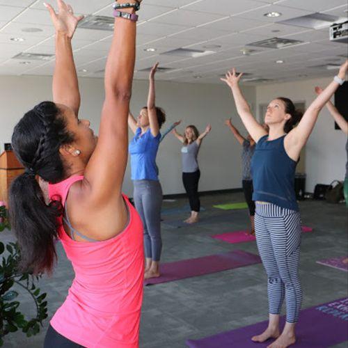 Yoga for Employee Wellness Groups