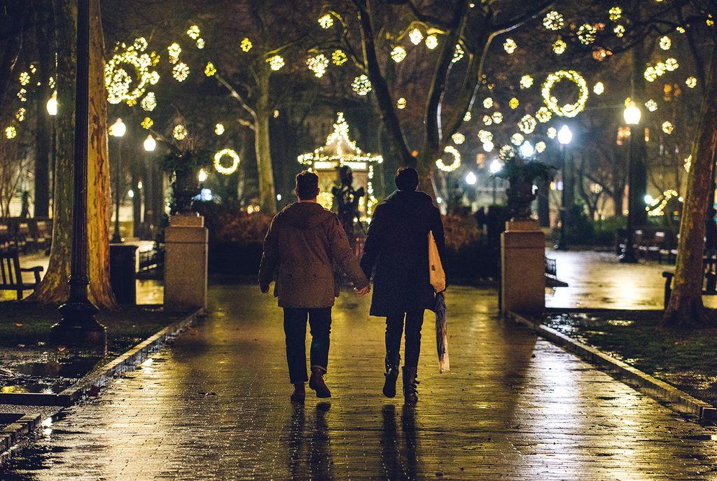 Proposal in Rittenhouse Square