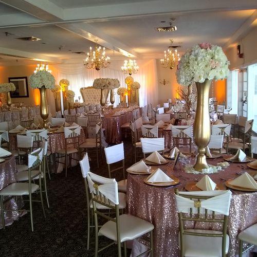 2018 Wedding reception @ National Golf Club, Fort Washington MD #everycoupleiplayedforarestilltogether