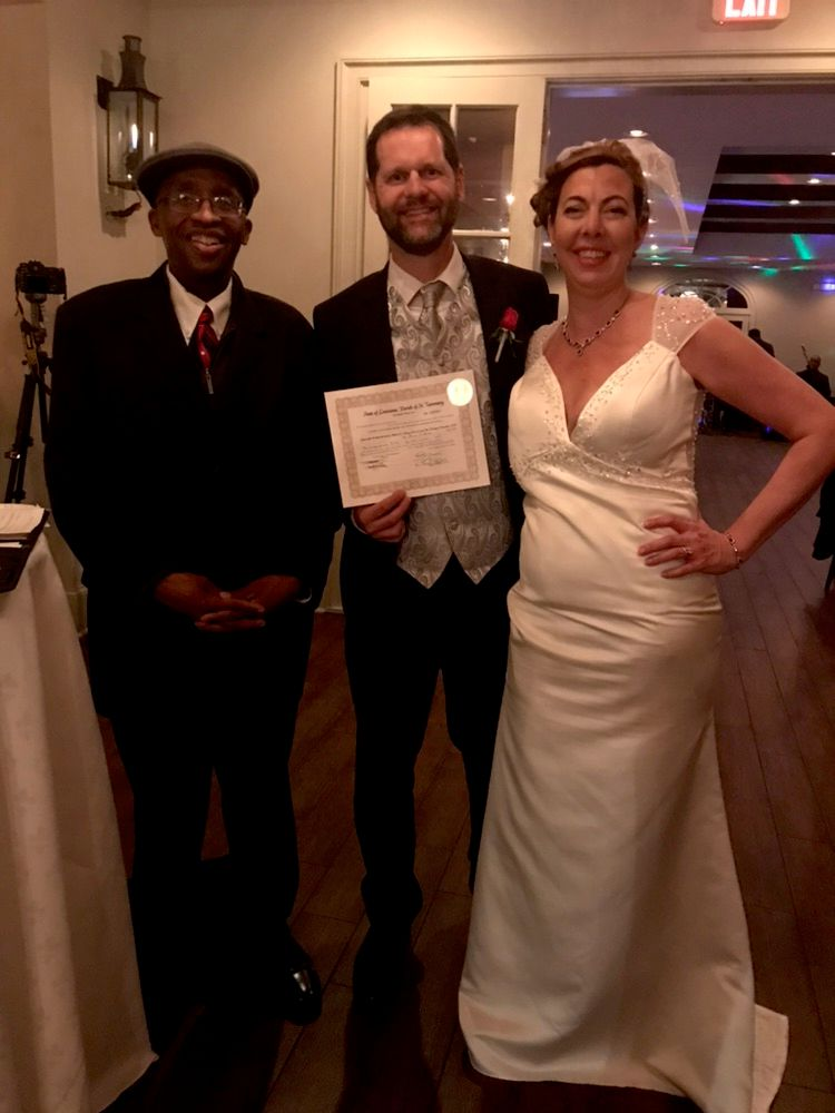 Self   Employed as a Wedding Officiant