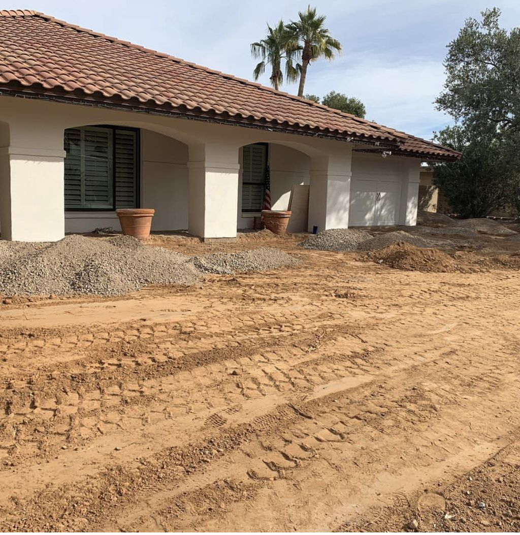 McCormick Ranch Front Yard Remodel