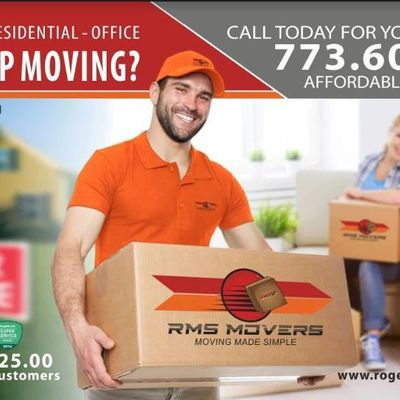 Avatar for RMS MOVERS of Chicago Chicago, IL Thumbtack
