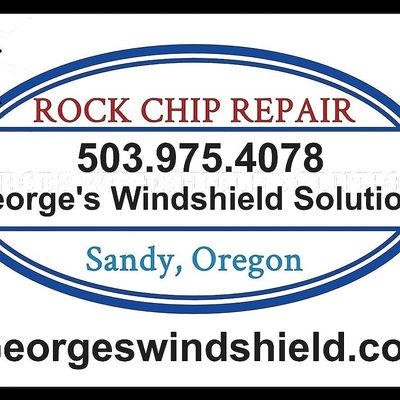 Avatar for George's Windshield Solutions     Rock Chip Repair