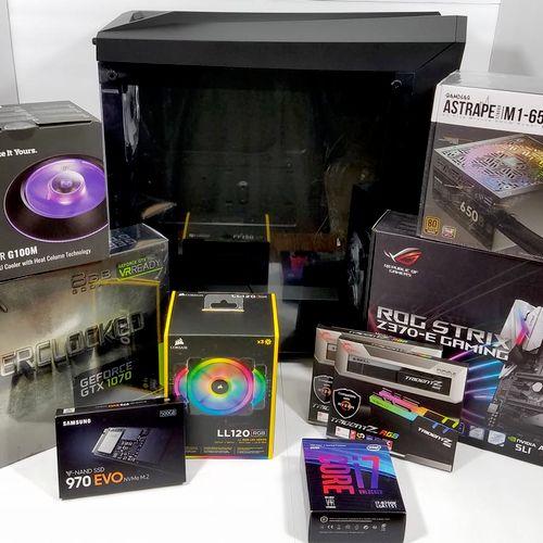 Recent Gaming Desktop We Built.