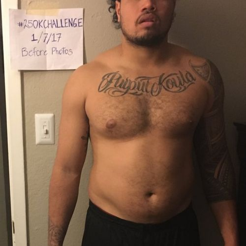 Almost 260lbs to start the year