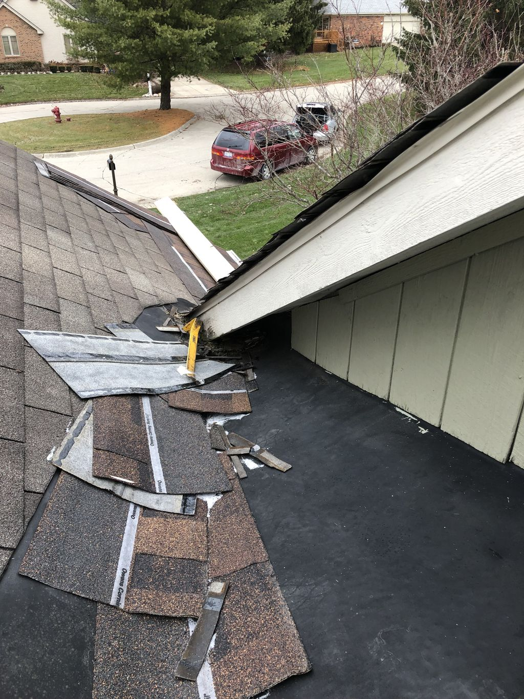 Complete reroof and flashing