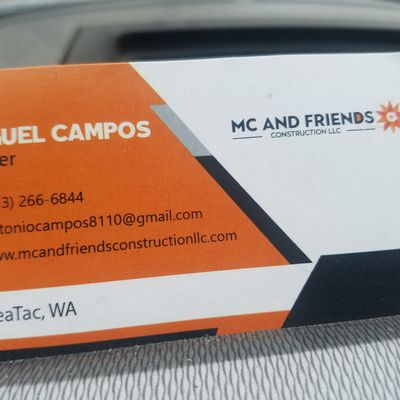 Avatar for MC & Friends Construction LLC Seattle, WA Thumbtack