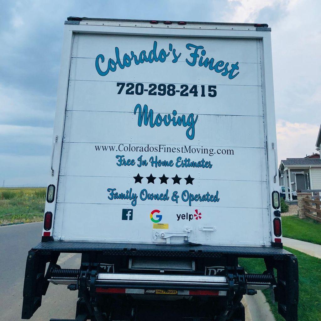 Colorado's Finest Moving LLC