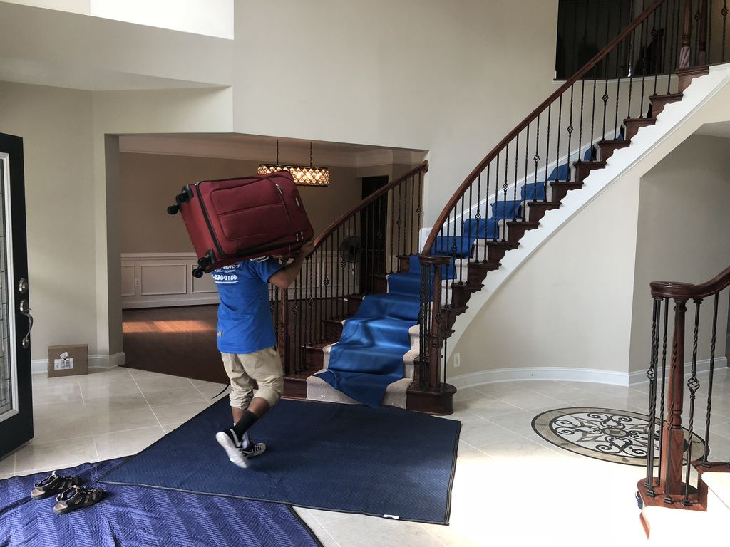 Moving a single family house