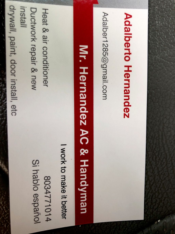 Mr. Hernandez Heat, AC, & handyman