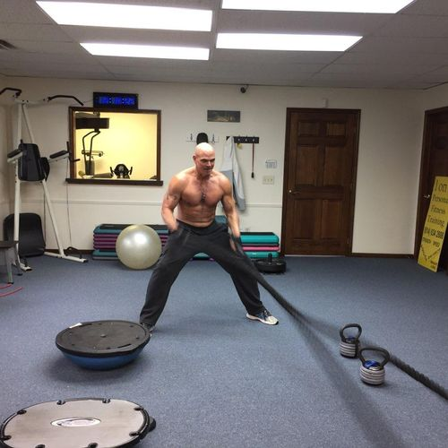 Battle Ropes are a challenge