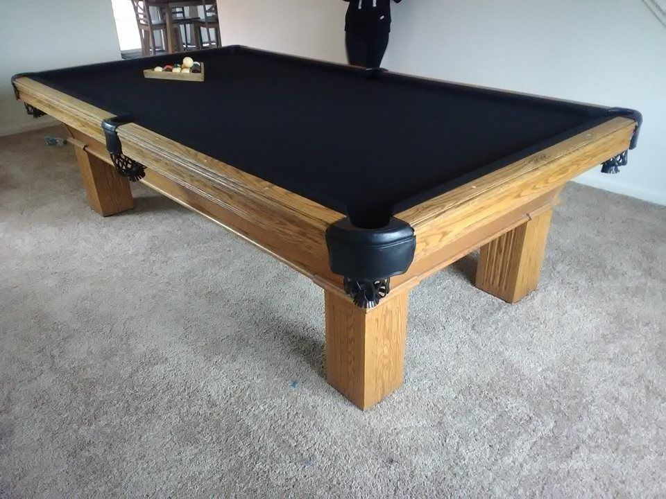 9ft Tournament Table Complete Service