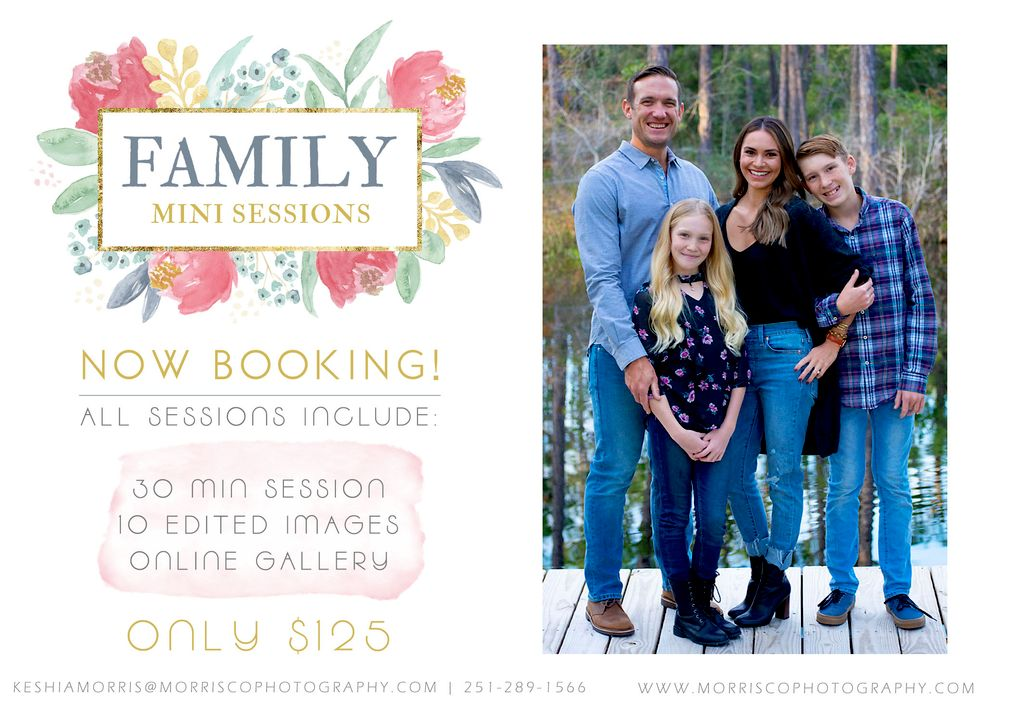 Family Mini Sessions