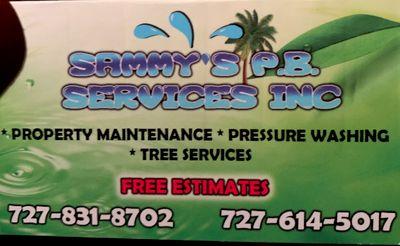 Avatar for Sammy's PB services inc