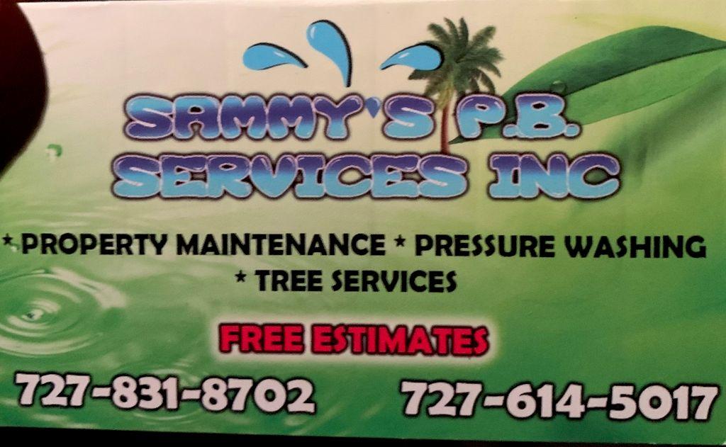 Sammy's PB services inc