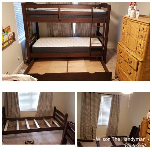 Furniture Assembly - Bunk bed