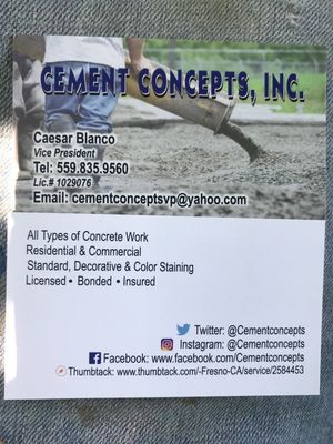 Avatar for Cement Concepts