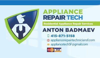 Appliance Repair Technician San Francisco, CA Thumbtack