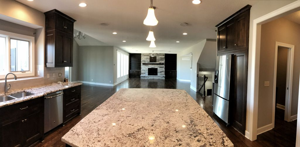 Overland Park 1st floor remodel design and construct