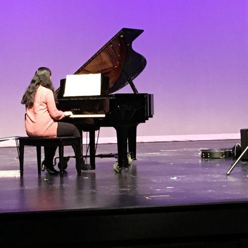 Teen Piano Student Recital