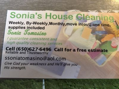 Avatar for Sonia's house cleaning Manteca, CA Thumbtack