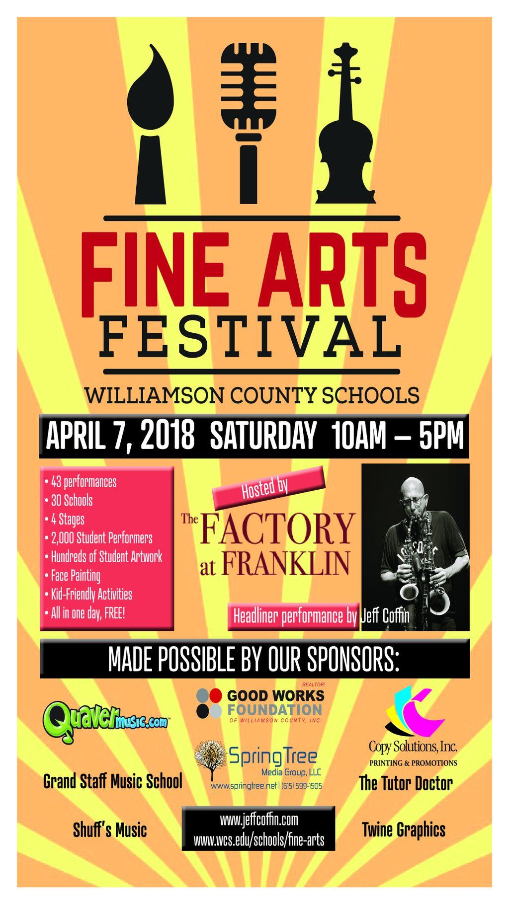 Williamson County Schools Event Flyer